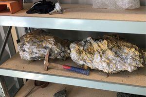 Đào được cục vàng lớn chưa từng thấy, nặng gần 90 kg