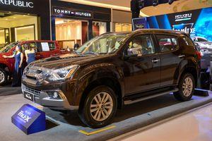 Ảnh chi tiết Isuzu mu-X 2018: SUV cỡ trung rẻ nhất thị trường