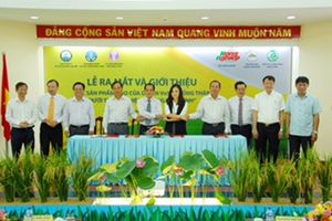 Ra mắt sản phẩm gạo an toàn 'Ruộng nhà mình' cho thị trường nội địa