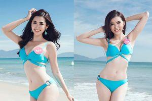 Diện bikini, thí sinh Hoa hậu Việt Nam 2018 khoe trọn đường cong trước giờ G