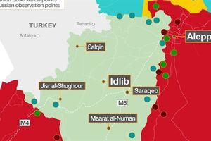 Khủng bố Idlib tuyệt vọng phá thế bao vây cô lập