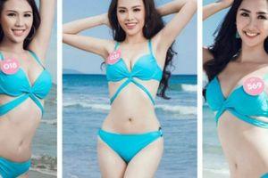 Ngây ngất ngắm ảnh bikini gợi cảm của thí sinh Hoa hậu Việt Nam trước biển