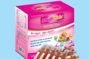 Thu hồi lô thực phẩm bổ sung Medikids cho trẻ em