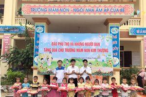 Phú Thọ: 450 suất quà đến với học sinh nghèo huyện Tân Sơn