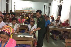Lớp học đặc biệt ở vùng biên Tam Quang