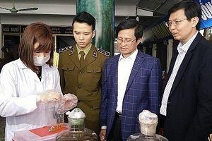 Hà Nội triển khai 3 cấp cảnh báo nhanh về an toàn thực phẩm