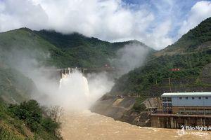 Nghệ An: Vận hành xả lũ thủy điện Bản Vẽ trước siêu bão Mangkhut