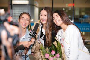Người đẹp Daniela Zivkov và hai á hậu Áo 2018 đến TP.HCM
