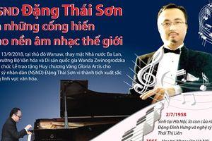 Những thành tựu âm nhạc của NSND Đặng Thái Sơn
