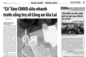'Cò' làm CMND 'siêu nhanh' ở trụ sở Công an Gia Lai mất dạng
