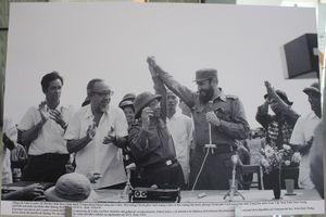 Những khoảnh khắc lãnh tụ Fidel Castro trên vùng 'đất lửa' Quảng Trị