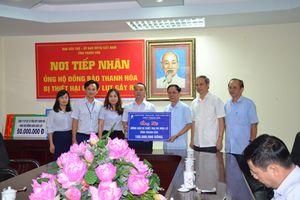 VNPT ủng hộ 100 triệu đồng cho đồng bào bị thiệt hại do lũ lụt tại Thanh Hóa
