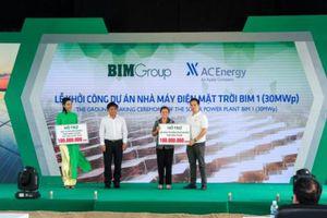 Lilama 18 thi công nhà máy điện mặt trời BIM 1