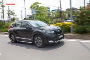 Honda CR-V bán chạy bất ngờ, bám sát Mazda CX-5