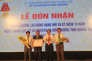Sở TN&MT Quảng Trị kỷ niệm 15 năm ngày thành lập và đón nhận Huân chương lao động Hạng Nhì 