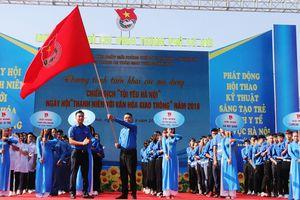 1000 đoàn viên, thanh niên Thủ đô ra quân chiến dịch 'Tôi yêu Hà Nội'