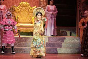 Nghệ sĩ Kim Ngân tròn vai Dương Vân Nga sau nhiều năm tạm xa sân khấu