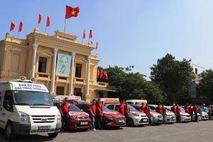 Hải Phòng tổ chức diễu hành tuyên truyền an toàn giao thông