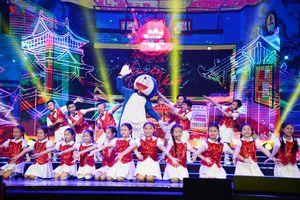 Mèo máy Doraemon khuấy động không khí Nhạc hội Việt Nhật 2018