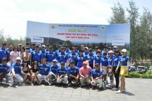 Gần 150 doanh nhân tranh tài tại Giải golf Doanh nhân trẻ Đà Nẵng