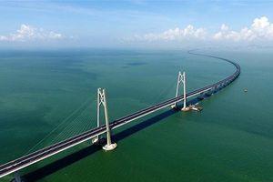 Bão MANGKHUT có thể làm sập cây cầu dài nhất thế giới ở Trung Quốc