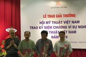 Trao giải thưởng Hội Mỹ thuật Việt Nam 2018