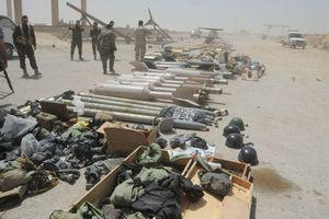 Quân đội Syria tìm thấy vũ khí Israel trong hang ổ IS?