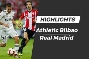 Highlights Athletic Bilbao 1-1 Real Madrid