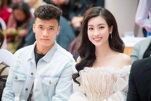 Hoa hậu Mỹ Linh chia sẻ chuyện hâm mộ Bùi Tiến Dũng