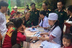 Quân dân y kết hợp chăm sóc sức khỏe người dân