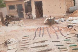 Quân đội Syria thu giữ lượng vũ khí lớn của IS