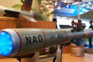 Ấn Độ thử thành công tên lửa chống tăng loại nhẹ