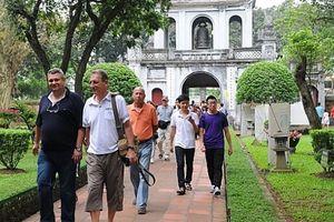 9 tháng đầu năm, khách du lịch đến Hà Nội tăng 9,2%