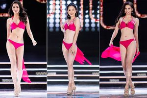 Top 25 khoe body nóng bỏng tại chung kết Hoa hậu Việt Nam 2018