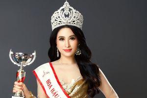 Hoa hậu Bùi Lý Thiên Nương khoe sắc quyến rũ sau đăng quang