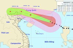 Siêu bão Mangkhut đổ bộ vào Trung Quốc rồi về Việt Nam