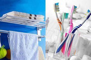 Những đồ vật cần 'vứt bỏ' ra khỏi nhà tắm của bạn nếu không muốn rước họa vào thân