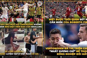 Trung vệ Man United lập siêu phẩm nhờ luyện đá cầu ở Việt Nam