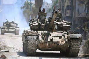 Quân đội Syria ồ ạt đánh bật IS khỏi nhiều sa mạc ở Homs