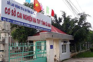 Truy tìm 9 học viên trốn khỏi cơ sở cai nghiện ma túy ở Cà Mau
