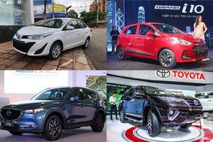 Những mẫu ô tô bán chạy nhất tháng 8/2018