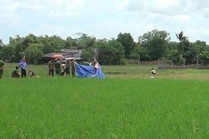 Bắc Giang: Phát hiện nam thanh niên tử vong dưới ruộng lúa