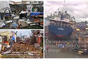 Hình ảnh cho thấy siêu bão Mangkhut chính là 'Tận thế giữa đời thực' ở Philippines