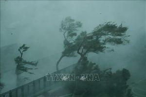 Bão số 6 đổ bộ vào phía Nam tỉnh Quảng Đông (Trung Quốc)