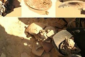 Phát hiện hũ phô mai 300 năm tuổi trong ngôi mộ cổ ở Ai Cập