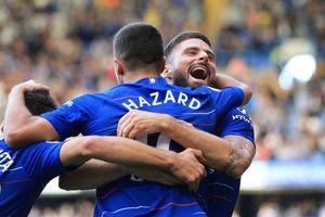 Toàn cảnh Chelsea 4-1 Cardiff: Soán ngôi đầu Premier League