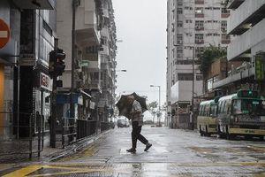 Trung Quốc chuẩn bị đối mặt siêu bão Mangkhut mạnh nhất thế giới