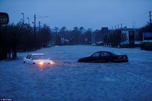 Bão Florence gây mưa lịch sử: Bờ đông nước Mỹ chìm trong biển nước, ít nhất 11 người chết