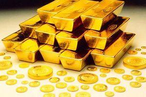 Giá vàng quay đầu giảm sâu phiên đầu tuần