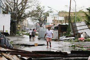 Siêu bão Mangkhut tàn phá Philippines